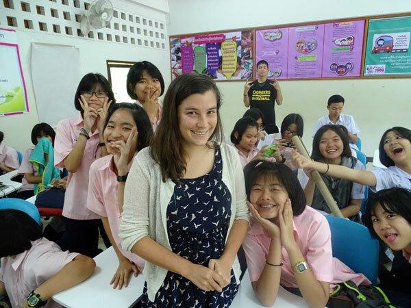 Teacher in Thailand
